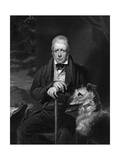 Sir Walter Scott Premium Giclee Print by J Watson Gordon