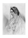Helena St John Mildmay Giclee Print by John Hayter