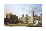 Northumberland House and Charing Cross Giclée-tryk af John Paul