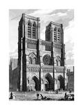 Paris, France - Notre-Dame Giclee Print by J. Tingle