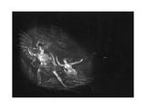 Satan and Sin Giclee Print by John Martin