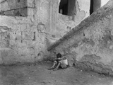 Lonely Street Urchin - Naples Photographic Print by Jean Finzi