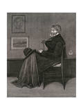Thomas Carlyle Giclee Print by James Abbott McNeill Whistler