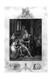 Eadwig Rebuked by Dunstan and Odo Giclee Print by J. Rogers