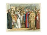 King Henry V Wedding Giclee Print by James Doyle