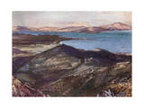 Greece, Marathon Plain Giclee Print by John Fulleylove