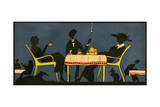 Drinks by Starlight 1918 Giclee Print by Jacques Nam