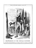 Gladstone as Actor Giclee Print by John Tenniel