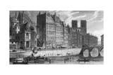 Paris Quai Orfevres Giclee Print by John Nash