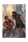 Treasure Isle, Ben Gunn Giclee Print by John Cameron
