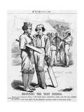 Disraeli, Cricket Innings Giclee Print by John Tenniel