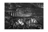 Nineveh Sacked by Medes Giclee Print by John Martin