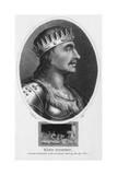 King Egbert, J. Chapman Giclee Print by J. Chapman