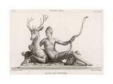 Diane de Poitiers Hunter Giclee Print by Jean Goujon