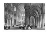 Paris, Notre Dame C1835 Giclee Print by JH Le Keux