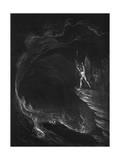 Satan in Hell Giclee Print by John Martin