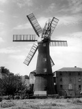 Alford Windmill Photographic Print by J. Chettlburgh