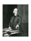 Samuel Adams803 Giclee Print by John Singleton Copley