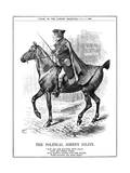 Gladstone as Gilpin Giclee Print by John Tenniel