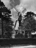 Wimbledon Windmill Photographic Print by J. Chettlburgh