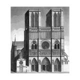Paris, France - Notre-Dame Giclee Print by J. Chapman
