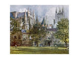 Westminster, S. Transept Giclee Print by John Fulleylove