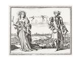 Londoners, 1690S Premium Giclee Print by Karel Allard