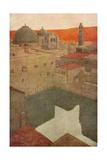 Jerusalem, Pool Hezekiah Giclee Print by Jules Guerin