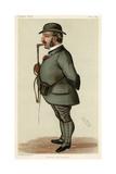 Leopold de Rothschild Giclee Print by Leslie Ward