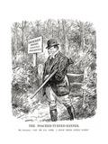 Winston Churchill - Punch Cartoon Giclee Print by L Raven Hill