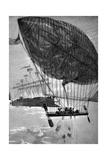 Verne, Robur Giclee Print by L Bennett