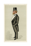 Frederick S. A. Hanbury-Tracy, Vanity Fair Giclee Print by Leslie Ward