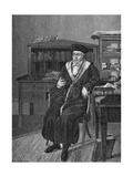 Georg Wilhelm Friedrich Hegel Giclee Print by L Sebbers