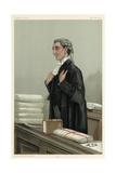 Lawyer, Rufus Isaacs Lámina giclée por Leslie Ward
