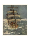 In Roaring Forties Premium Giclee Print by Kenneth D Shoesmith