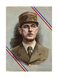 Charles de Gaulle Giclee Print by L. Serre