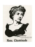 Chaminade (1861-1944) Giclee Print by Joseph Simpson