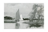 Norfolk Broads Giclee Print by Joseph Pennell