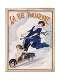 Scooter of the 1920S Giclee Print by Leo Fontan