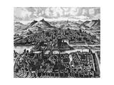 Isle de La Cite and the River Seine, Paris in 1600 Giclee Print by Leonard Gauttier