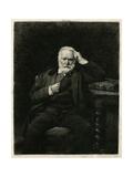 Victor Hugo Giclee Print by L Bonnat
