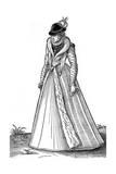 Elizabethan Costume Giclee Print by Jost Amman