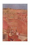 Jerusalem, Mount Olives Giclee Print by Jules Guerin