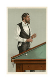 Billiards Champion, 1885 Giclee Print by Leslie Ward