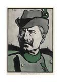 Wilhelm II 1907 Premium Giclee Print by Joseph Simpson