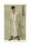 Lord Willoughby de Broke, Vanity Fair Giclee Print by Leslie Ward