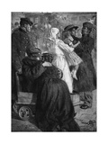 The Home-Coming - Wounded and Exchanged Soldiers Arriving Home Giclee Print by Lucien Jonas