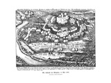 Battle of Wimpfen 1622 Giclee Print by Matthaus Merian