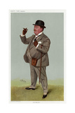 Fast Looking Gent 1907 Giclee Print by Leslie Ward