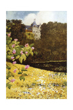 Gmunden, Schloss 1916 Giclee Print by Mima Nixon